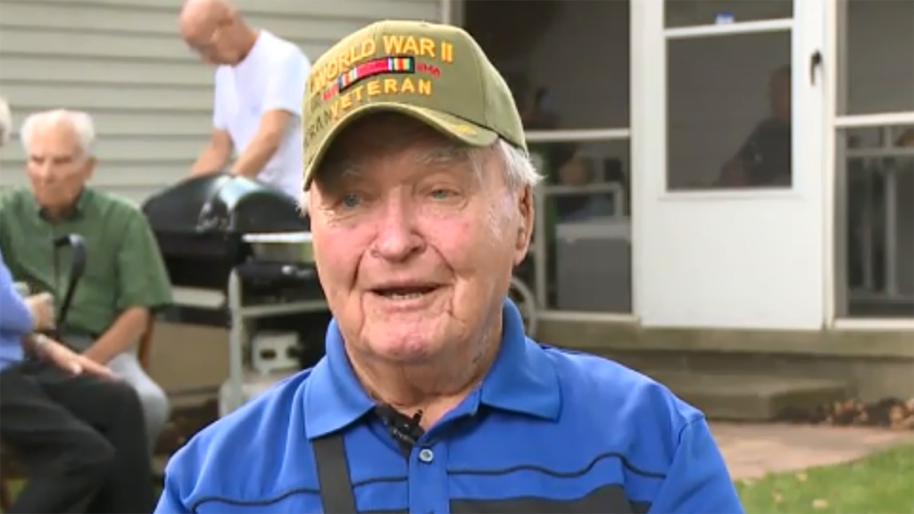 74 years late, WWII veteran receives his high school diploma
