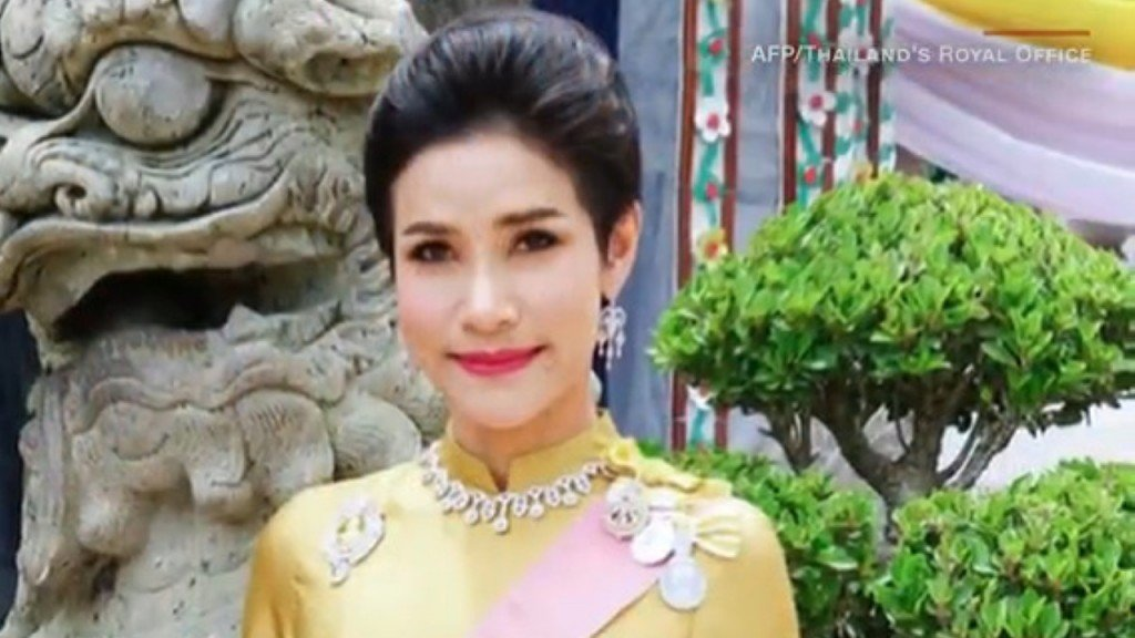 Thailand releases rare photos of King's royal consort