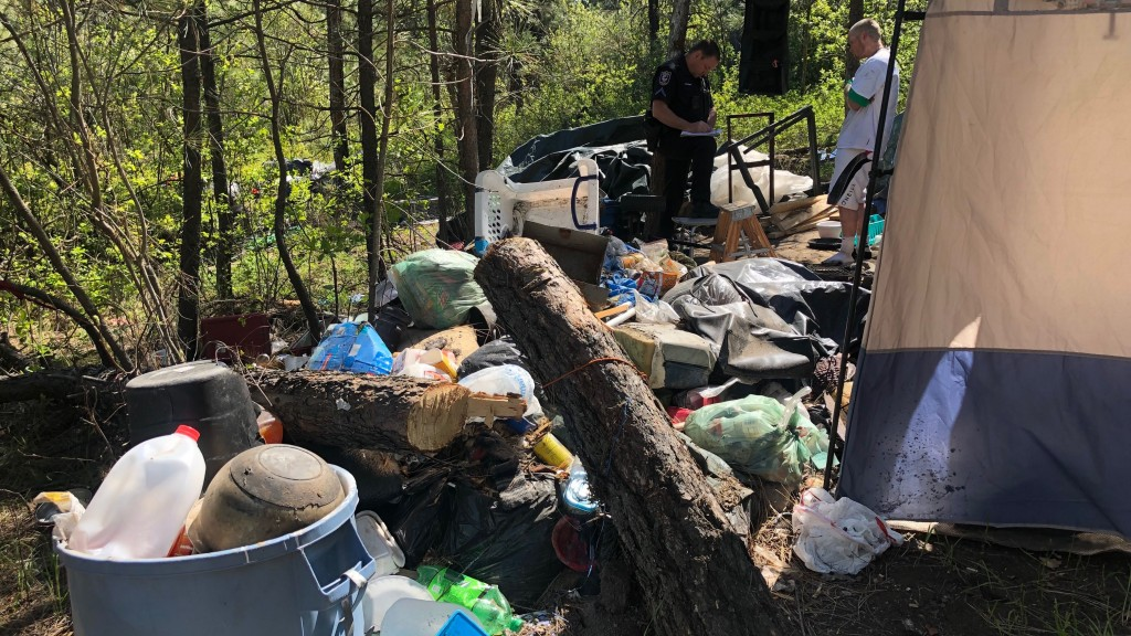PHOTOS: SPD receives 145 calls on homeless camps since January