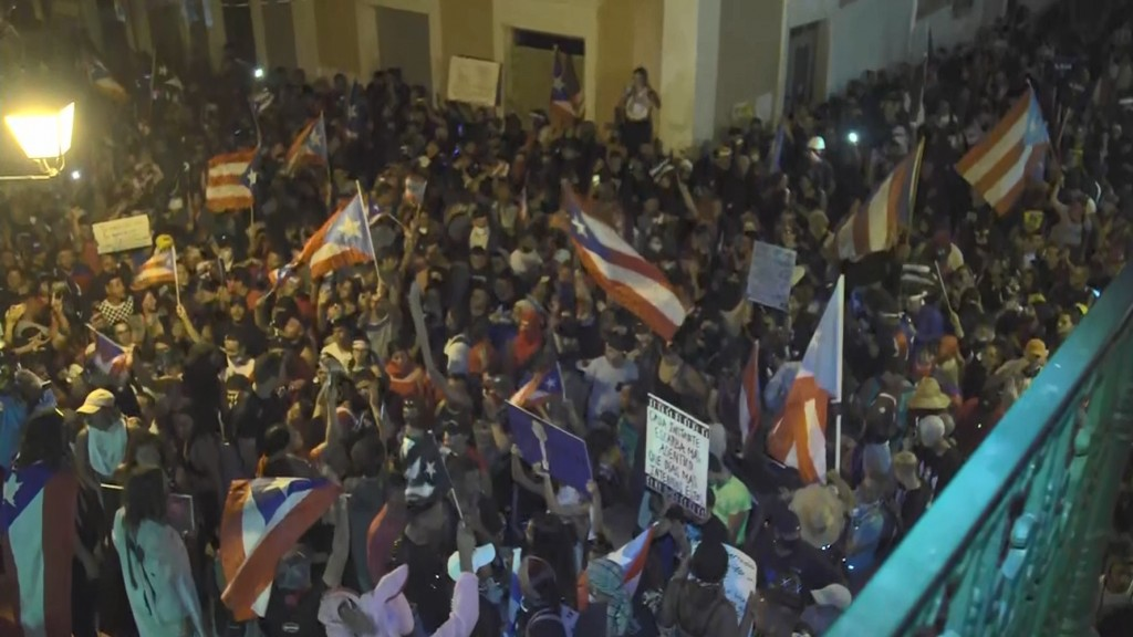 Publication of leaked texts partly sparked Puerto Rico's mass protests