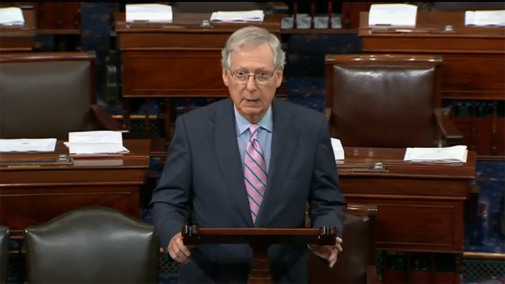 McConnell changes course after opposing SCOTUS nominees in presidential election year