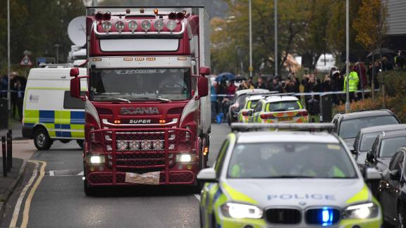 Could Vietnamese woman be among those who died in UK truck?
