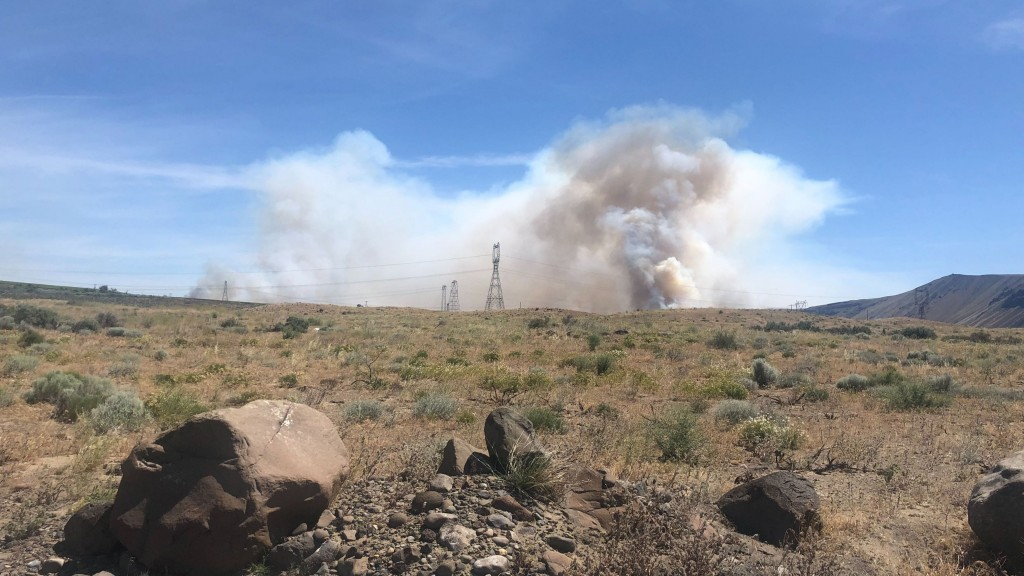 Photos: 243 Fire burns over 18,000 acres in Grant County