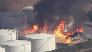 California refinery fire prompts shelter in place notification