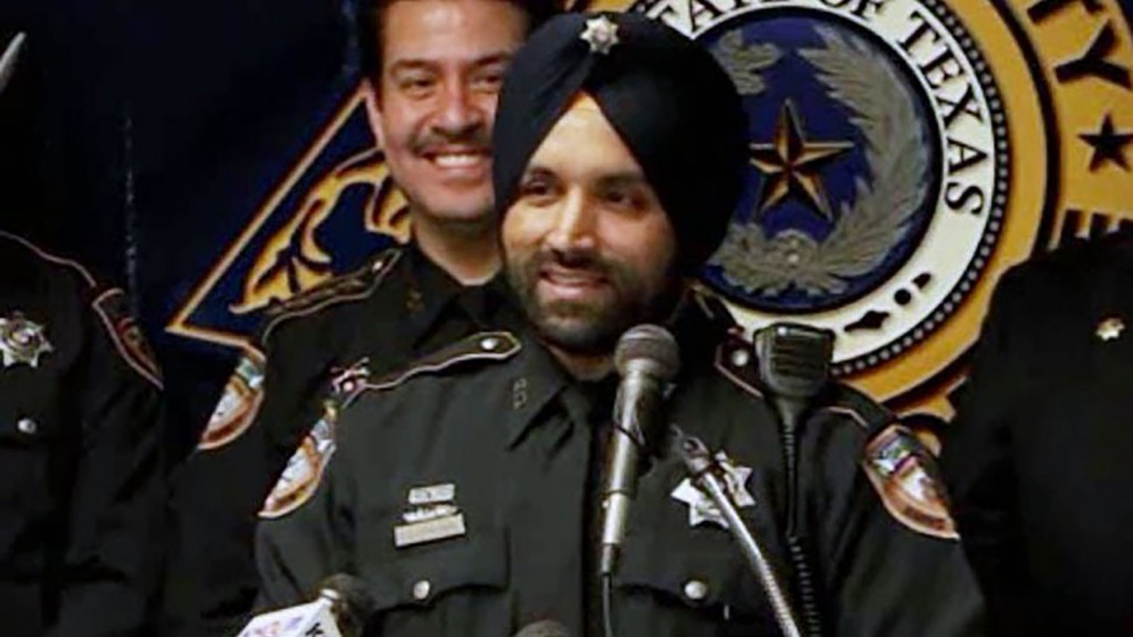 Sandeep Dhaliwal made history as Harris County's first Sikh deputy