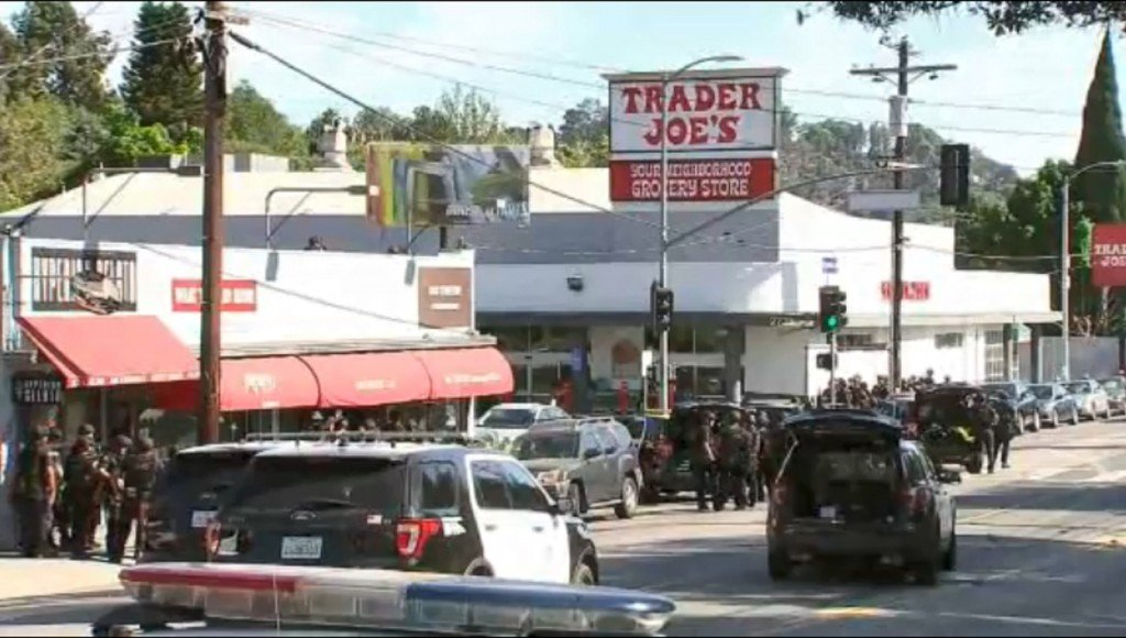 Bail set at $2 million for suspect in Trader Joe's standoff