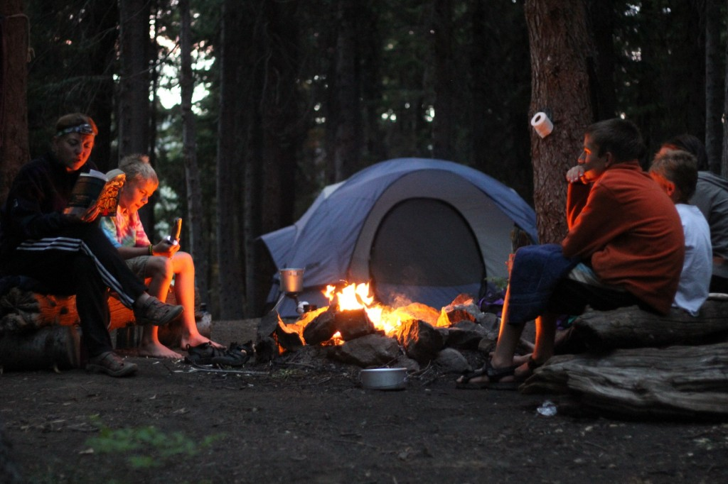 Campfires banned in Washington State Parks