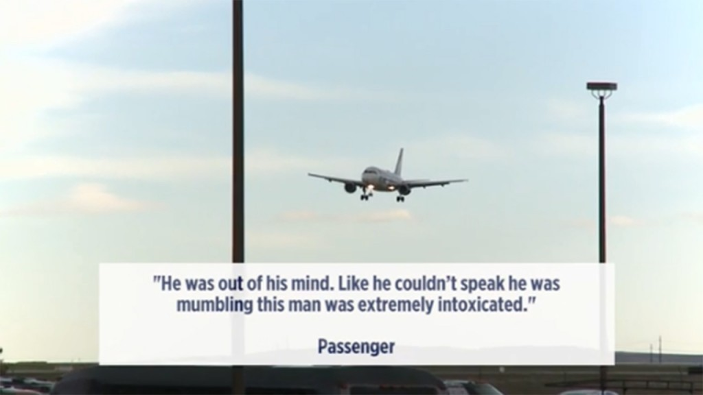 Man gropes woman, urinates on seat during flight