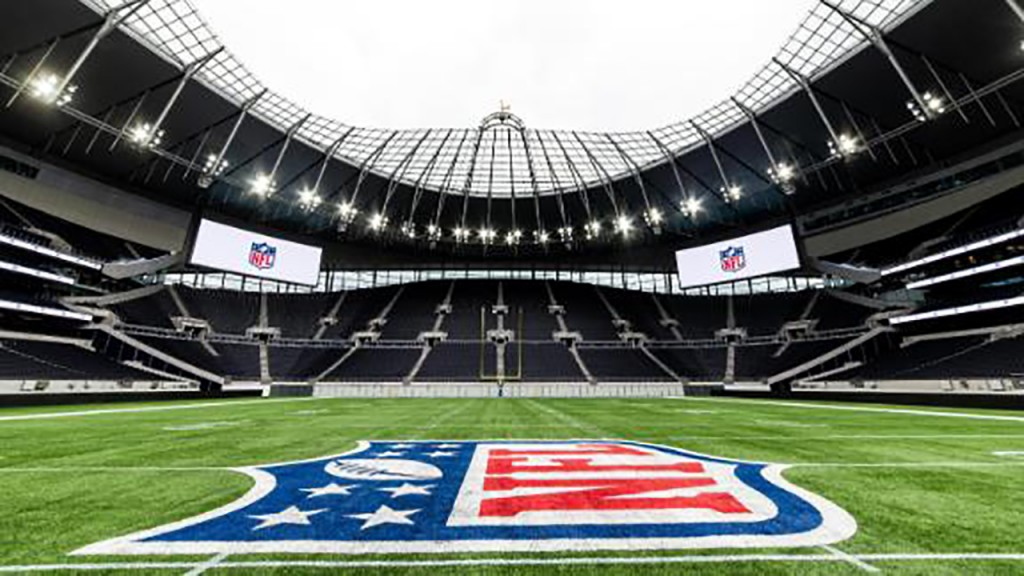 NFL plays its first game at new London stadium with retractable pitch