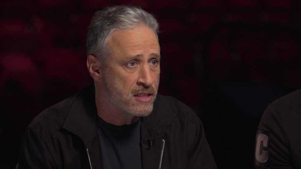 Jon Stewart pushes Congress to aid 9/11 victims fund