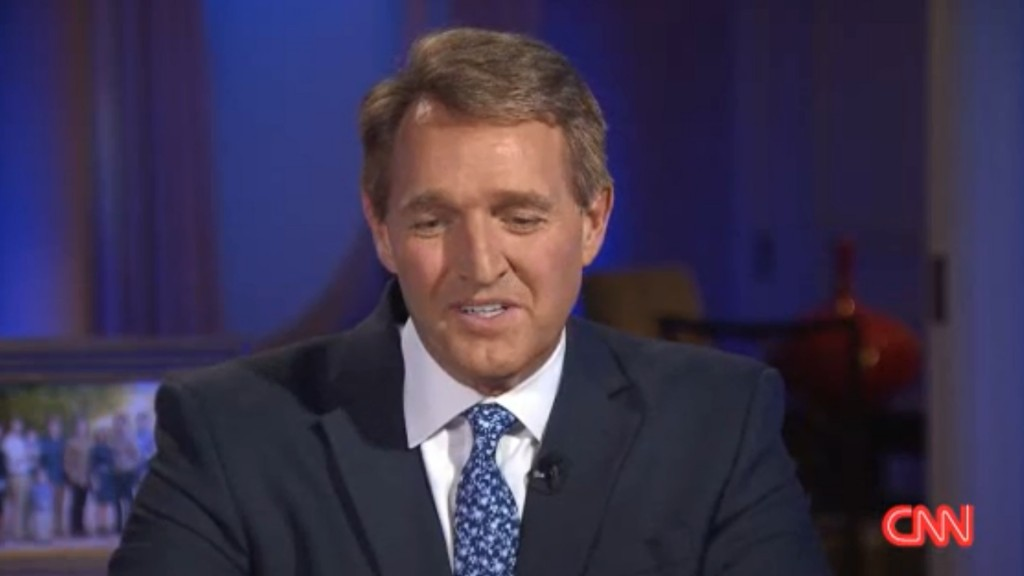 Republican Jeff Flake: 'My party might not deserve to lead'