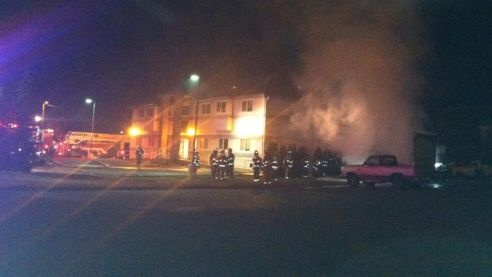 Fire near North Central HS investigated as arson