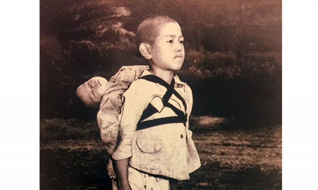 'The fruit of war': Pope Francis prints photo of Nagasaki victims