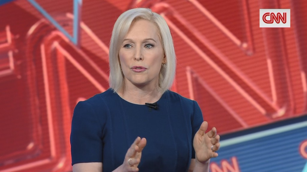 Kirsten Gillibrand trails the pack with $3 million in first quarter