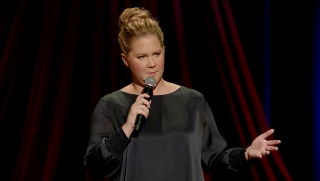 Amy Schumer returns to stage 14 days after giving birth