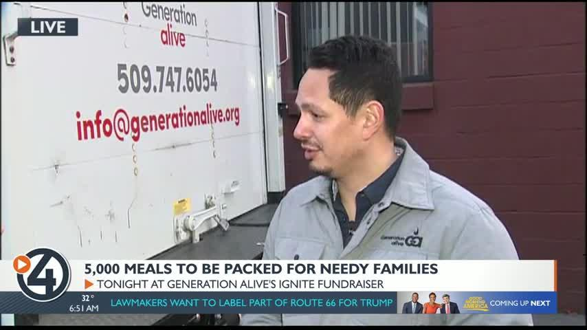 Generation Alive packing 5,000 meals at annual fundraiser