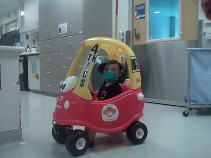 Mobilizing Cancer Patients at Childrens Hospital