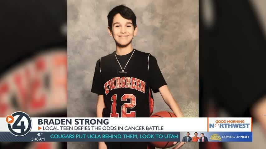 Local teen defies the odds in cancer battle