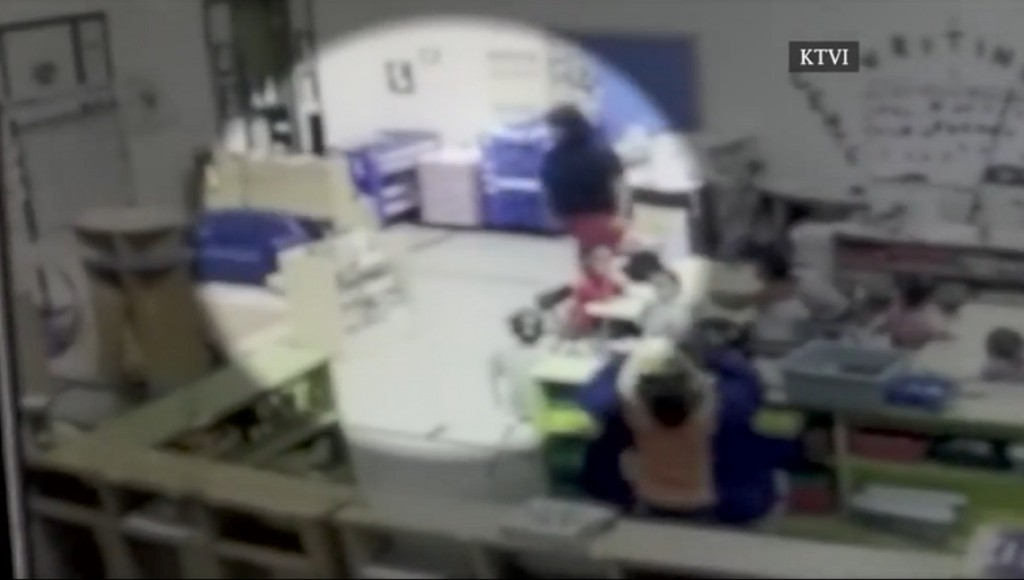 Video shows Missouri day care worker throwing toddler