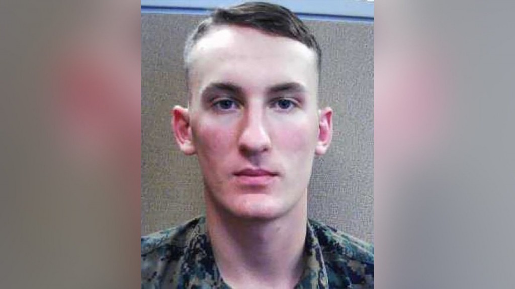 Marine deserter suspect in death of his mother's boyfriend in Virginia