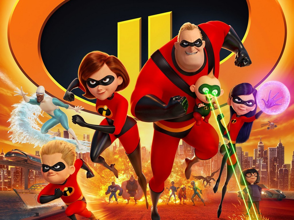 'Incredibles 2' shatters animation box office record