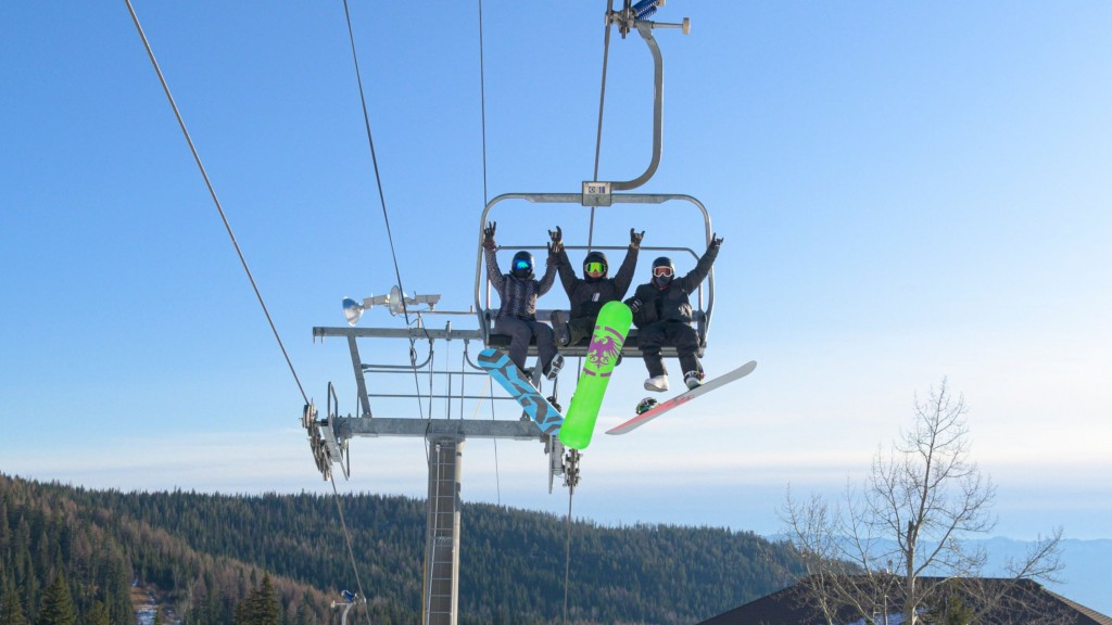 PHOTOS: Skiers, snowboarders catch the first chair of the season at Schweitzer