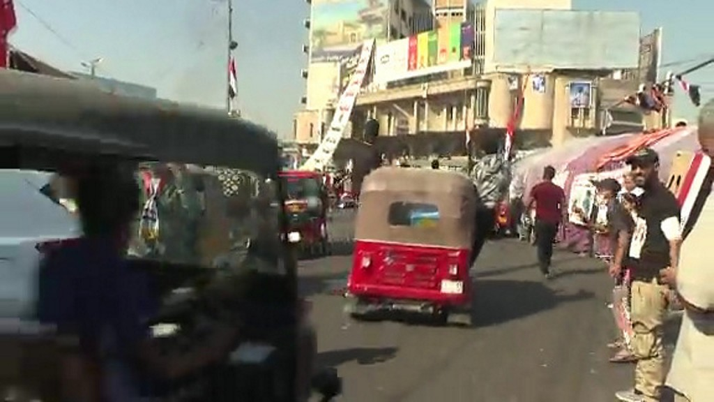 12 protesters killed in Baghdad