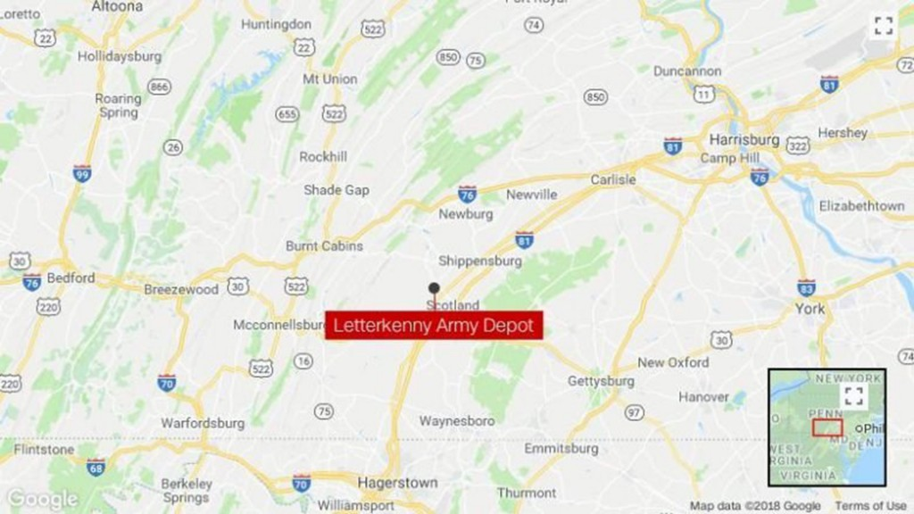 Pennsylvania Army depot employee dies after explosion, fire