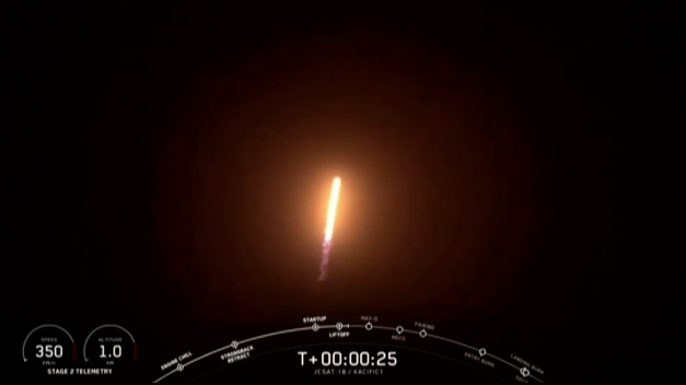 SpaceX launches satellite to spread internet