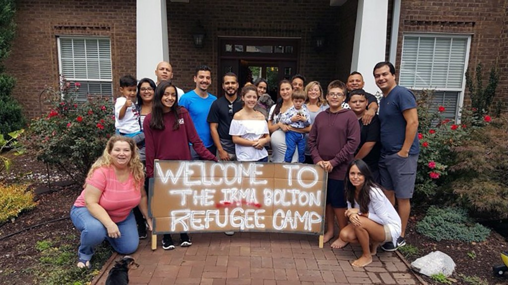 These people are opening their homes to Hurricane Florence evacuees