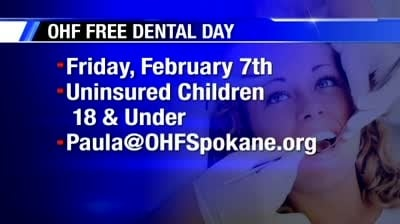 Operation Healthy Family holding free dental care day for uninsured kids