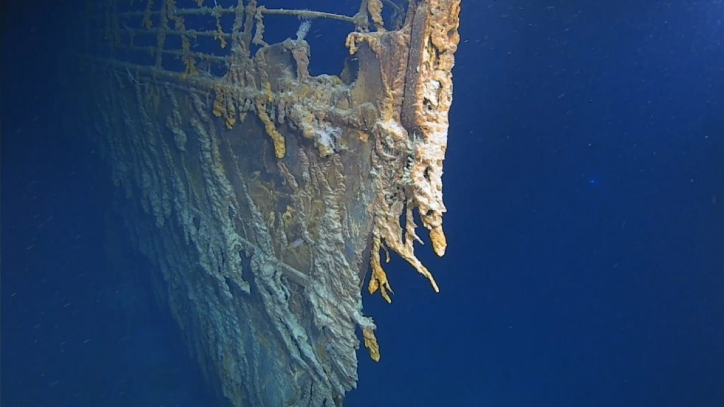 First Titanic dives in 14 years: Ocean floor swallowing shipwreck