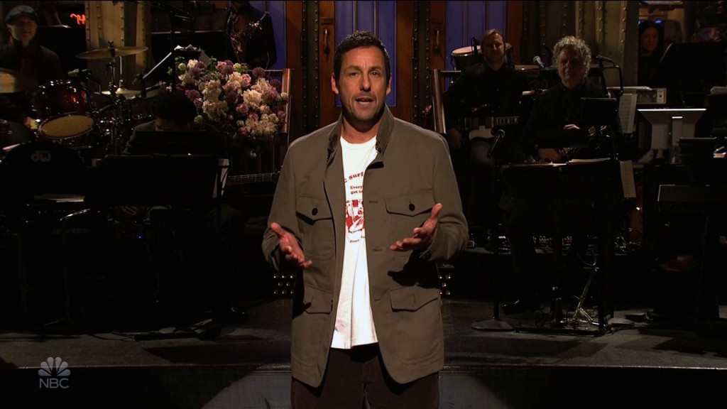 Adam Sandler's tribute to Chris Farley on 'SNL' made us all emotional