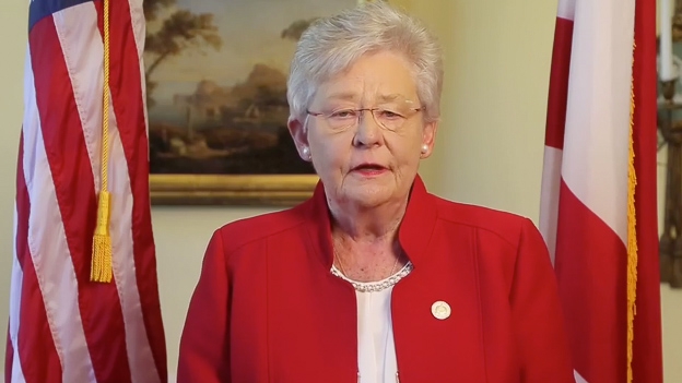 Alabama Gov. Kay Ivey being treated for lung cancer