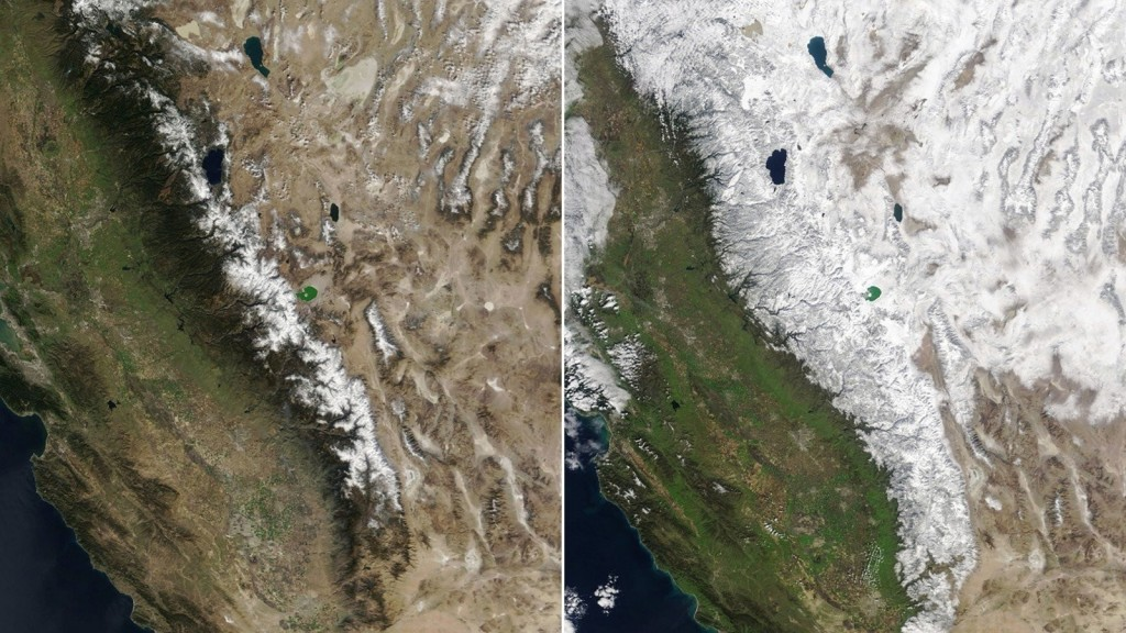 Atmospheric rivers pulling California out of drought