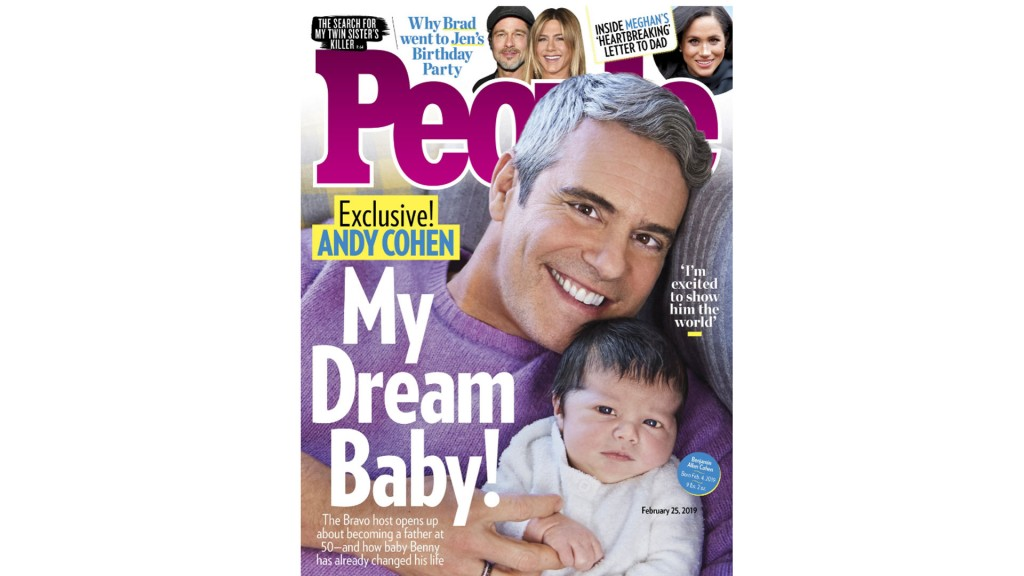 Meet Andy Cohen's new son