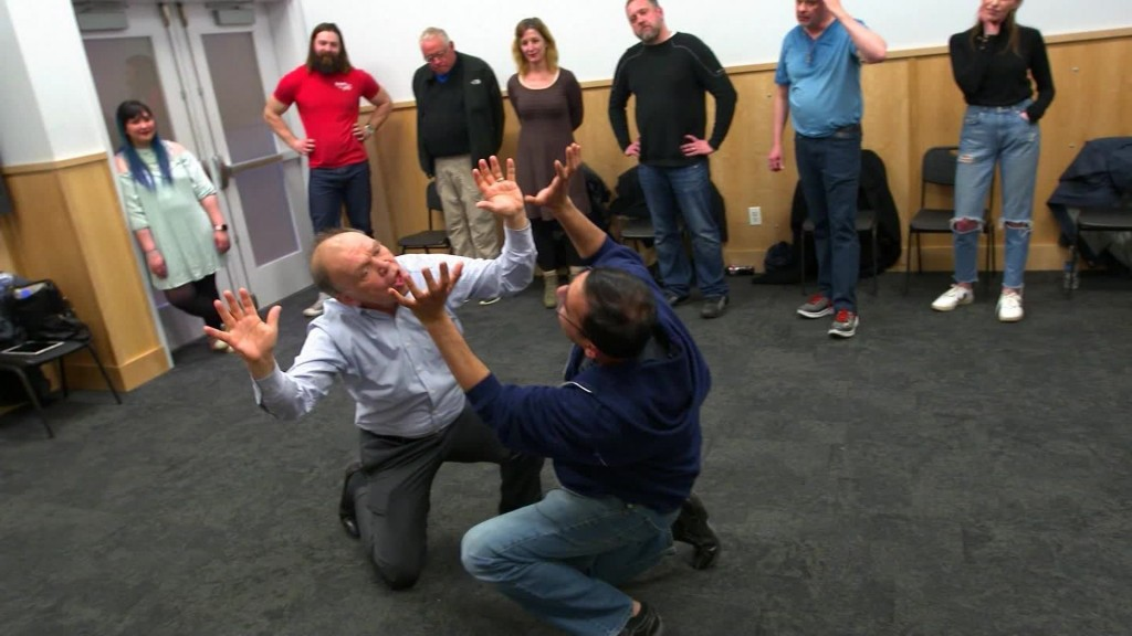 How an improv class is helping the anxious