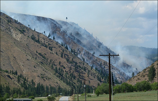 Officials: Chelan fire human caused