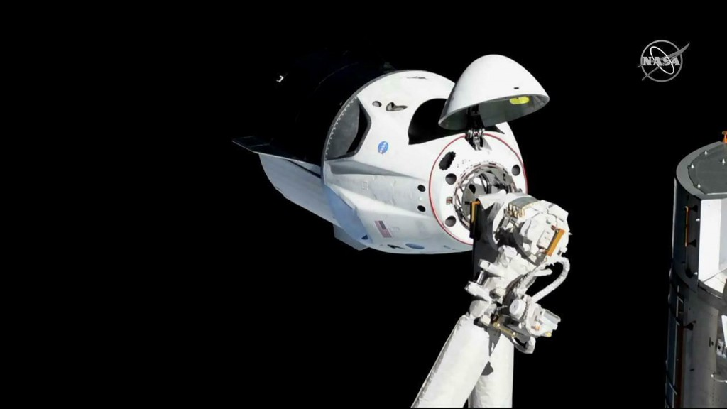 SpaceX Crew Dragon capsule set to return home from landmark test