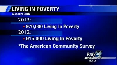 Poverty on the rise in Washington