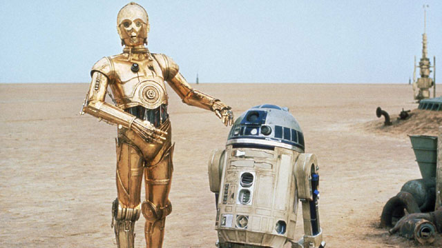 'Star Wars' stars then and now