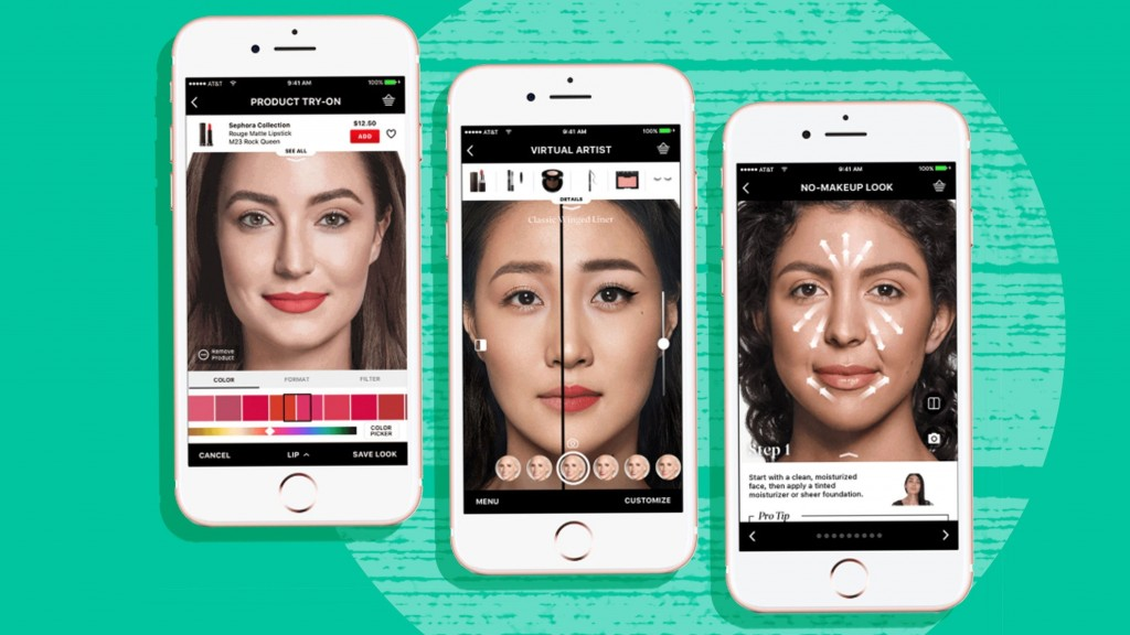 Virtual makeovers are better than ever