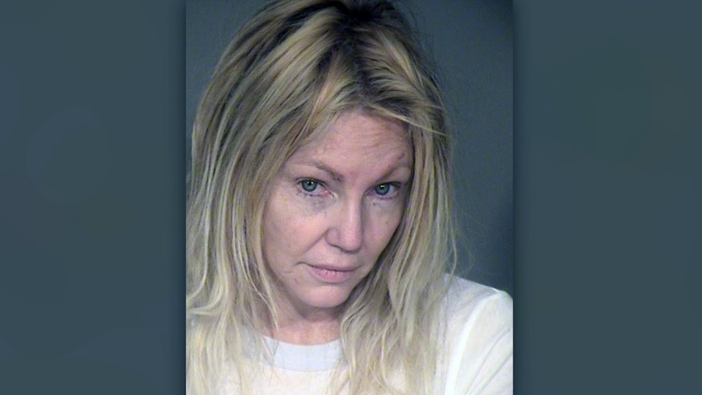 Authorities respond to medical call at Heather Locklear's home a day after arrest