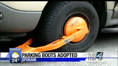 City council unanimously approves parking boots for overdue tickets
