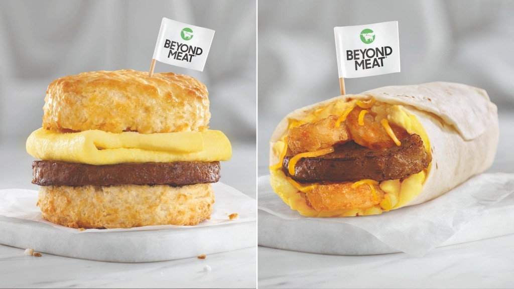 Hardee's and Carl's Jr. lean into plant-based meat