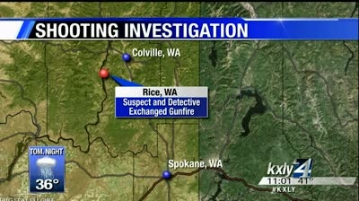 Suspect shot, killed by Stevens Co. deputy in Rice