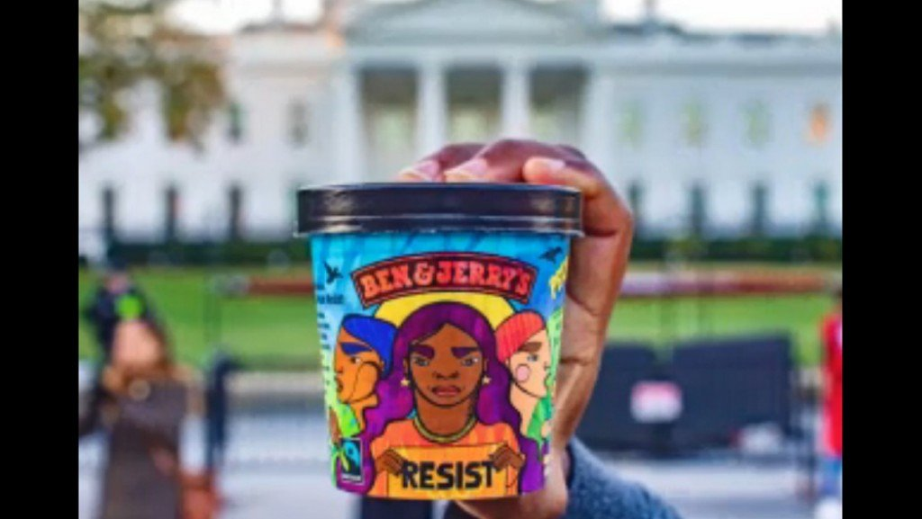 Ben & Jerry's launches Trump-inspired ice cream