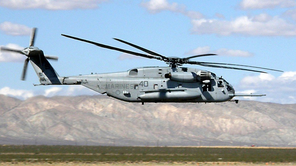 4 reported dead in Marine Corps helicopter crash