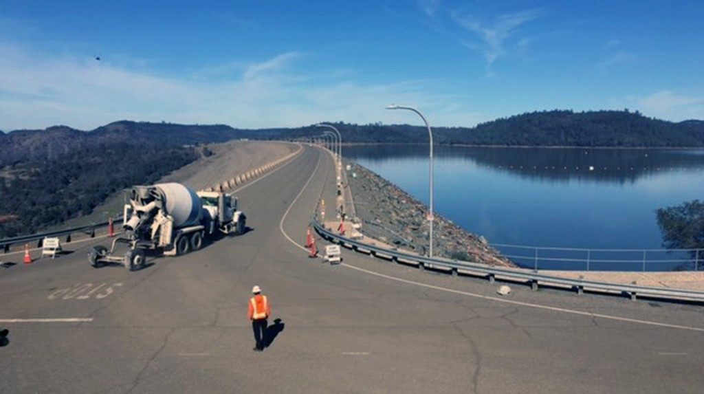 Rain may put Oroville Dam's partially repaired spillway to the test