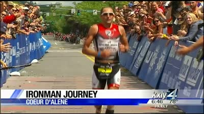 Triumphant Ironman finish for Coeur d'Alene cancer survivor